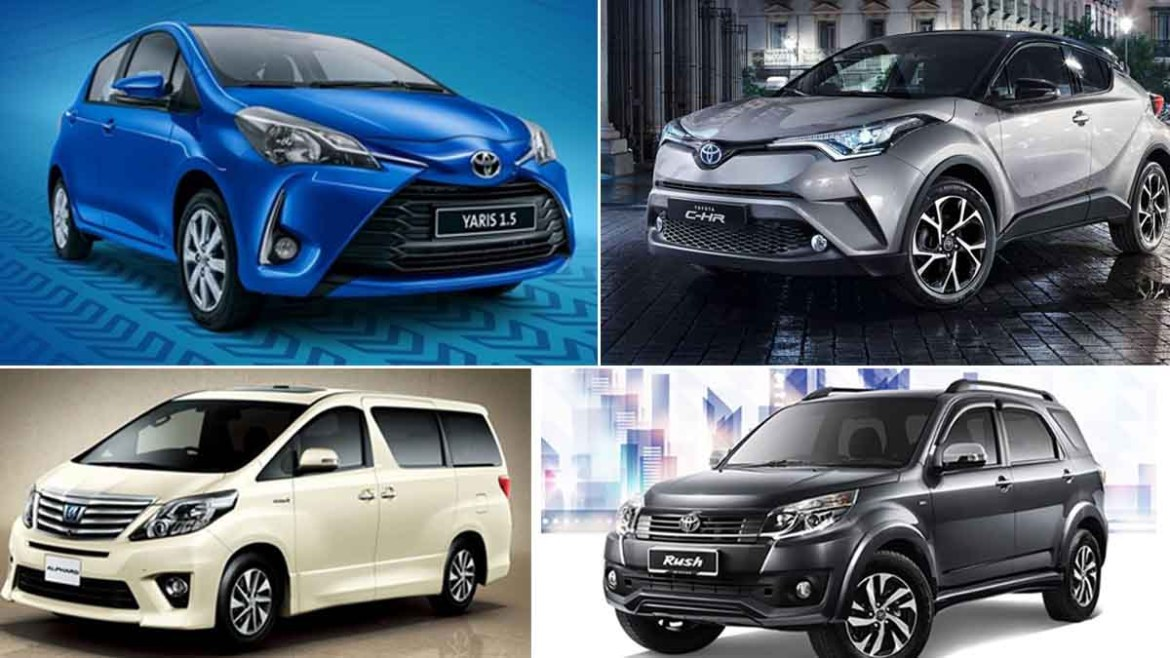 Upcoming cars of Toyota in 2018