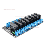 Kit Modul Solid State Relay Board SSR 8 Channel Omron