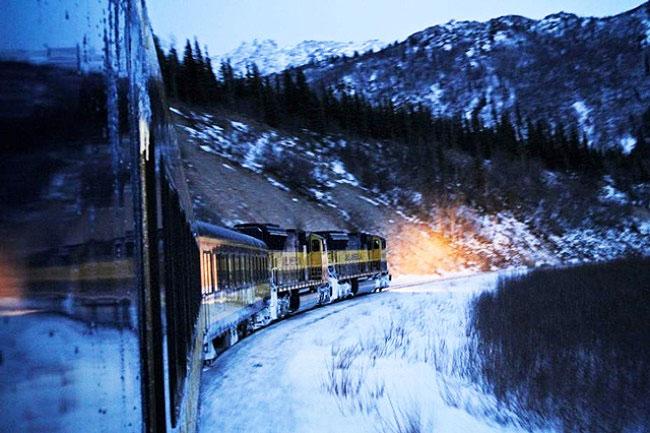 Aurora Express Hotel Train