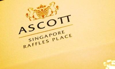 Ascott Raffles Place hotel, 2 Finlayson Green, Singapore