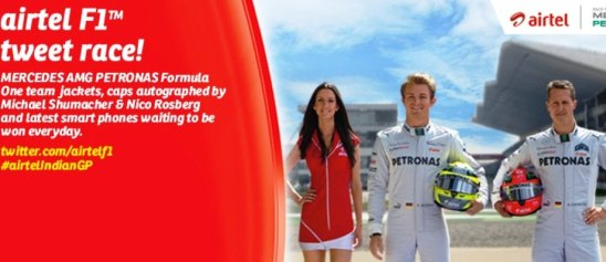 2012 Formula 1 Airtel Indian Grand Prix!