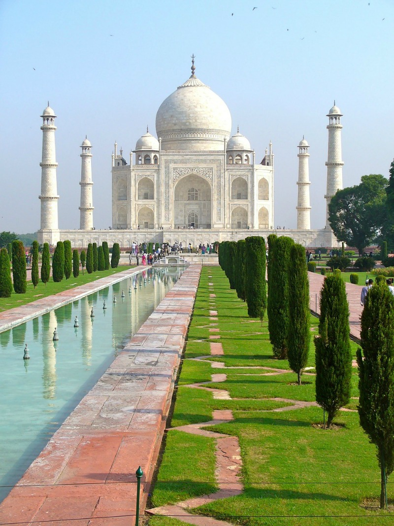 The most beautiful places in the world - Taj Mahal