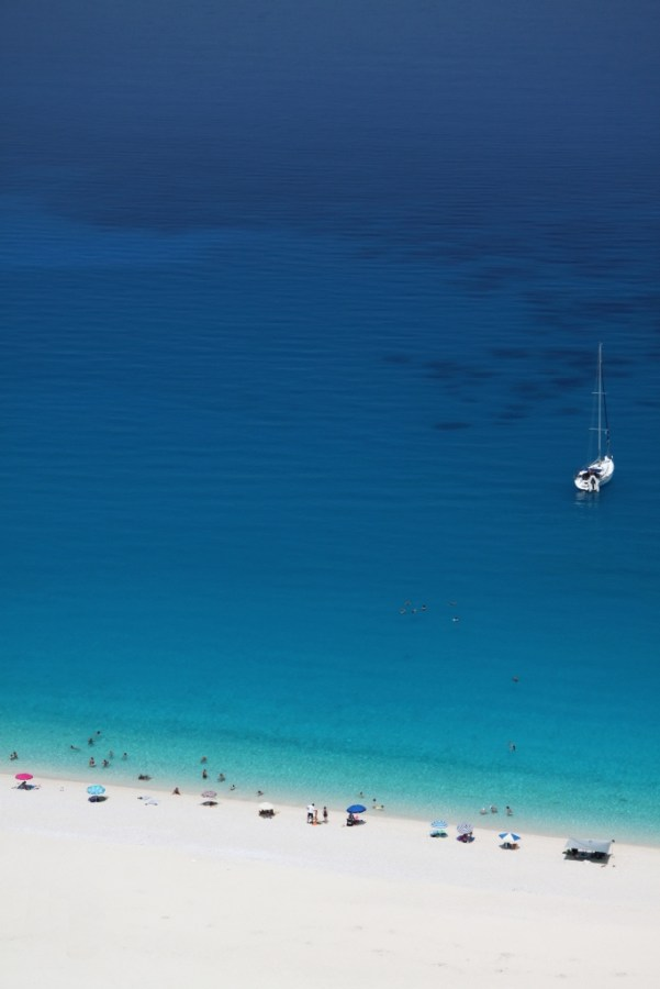 Myrtos beach greece