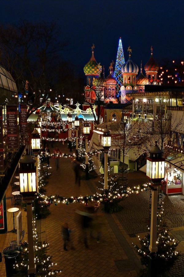 Tivoli Gardens at christmas