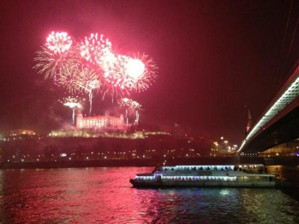new year eve in Bratislava
