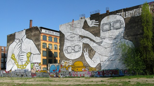 works by blu in berlin