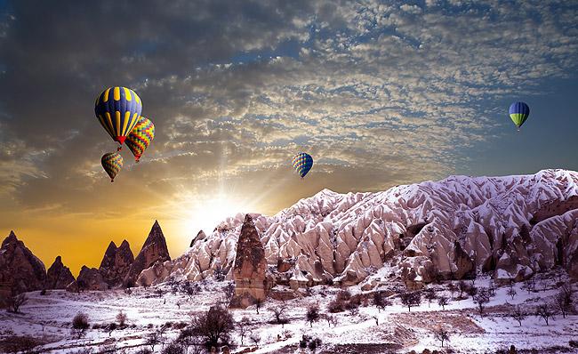 Visiting Cappadocia - Goreme Turkey