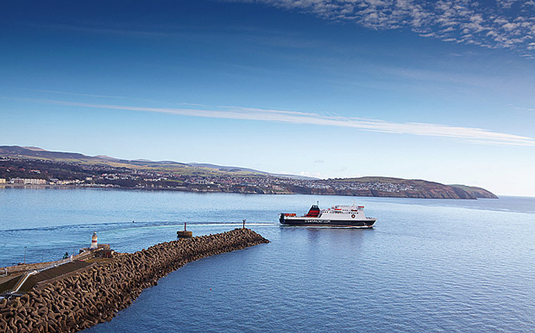 The Isle of Man Ferry - the Isle of Man