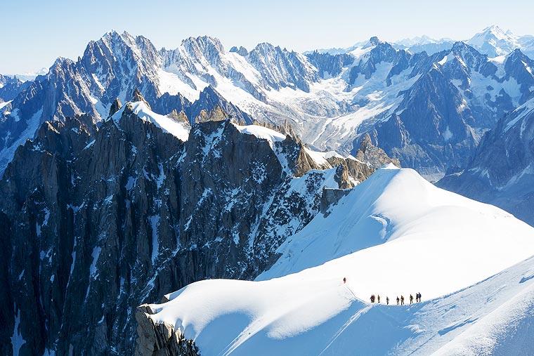Mont Blanc - European Hiking Trails