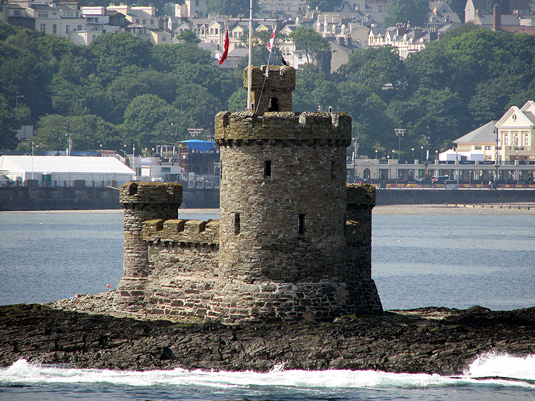The Tower of Refuge on the Isle of Man