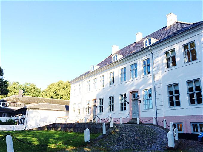 クローロップホイスコーレ。元々は貴族の別荘だった。