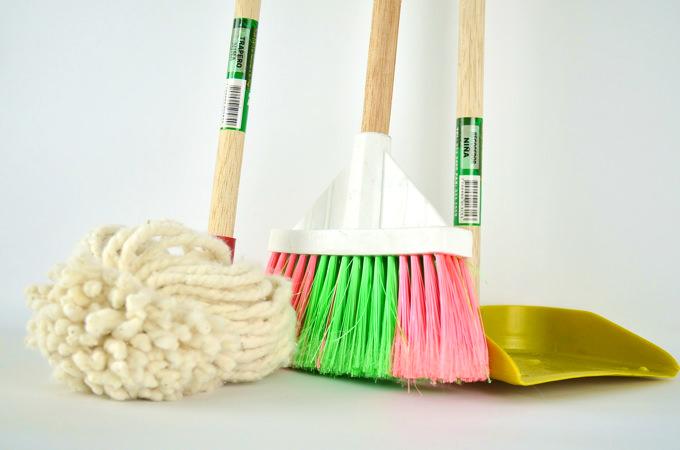 中国のメイドさん・お手伝いさん・ナニ−さんである「アイさん」が決まったら用意しておきたい掃除用具