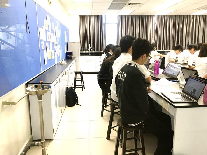 マレーシアのインターナショナルスクールの授業の様子