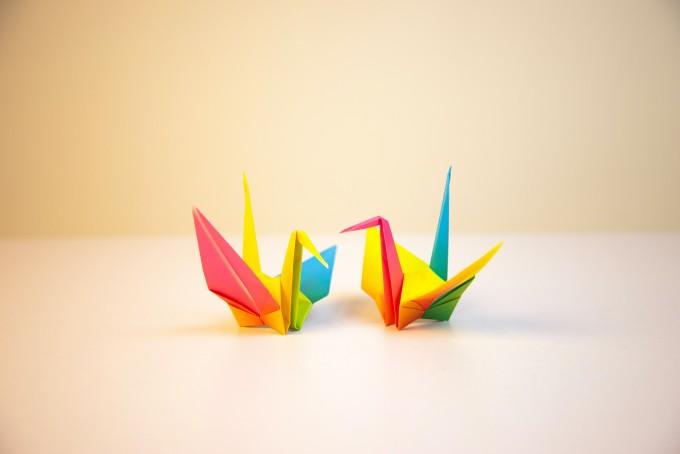海外へのにほんからのお土産:折り紙
