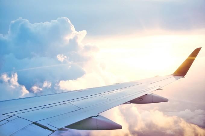 マレーシア行きの飛行機