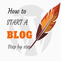 How to start a blog a WordPress blog