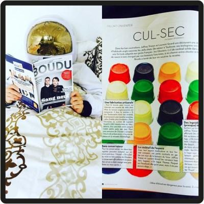 boudu magazine : glooters cocktails en gelée
