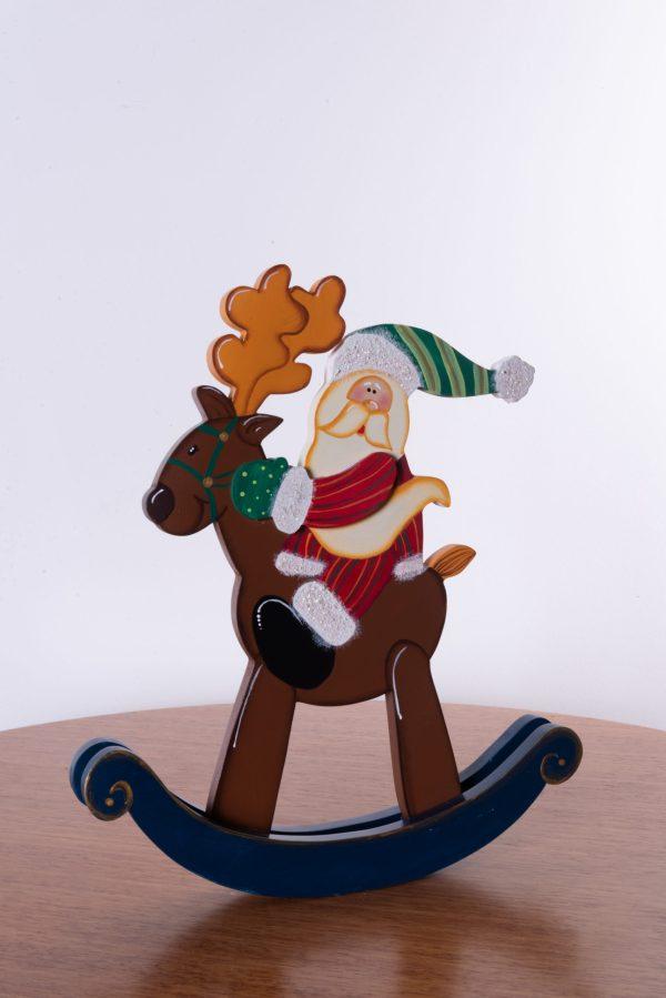 Papá Noel navideño country