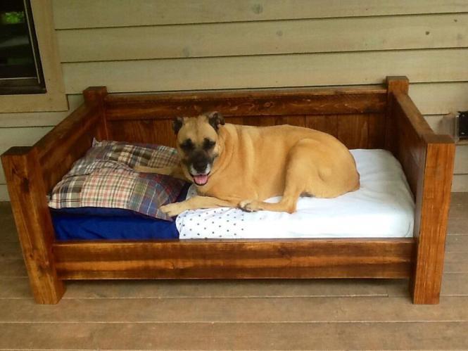 Crib Mattress Size Wooden Dog Daybed