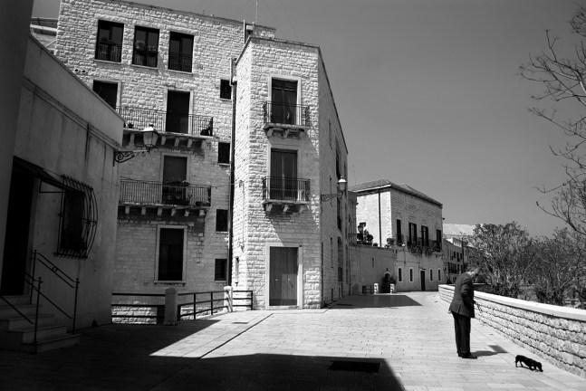 Bari, Passeggiata sulla muraglia