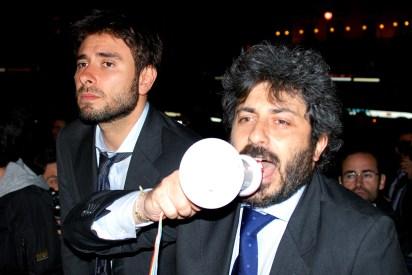 Roberto Fico e Alessandro Di Battista