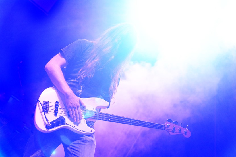 Roberto Fasciani, bassista di Ilenia Volpe - Nessun Dorma Guidonia Rock Fest 2016