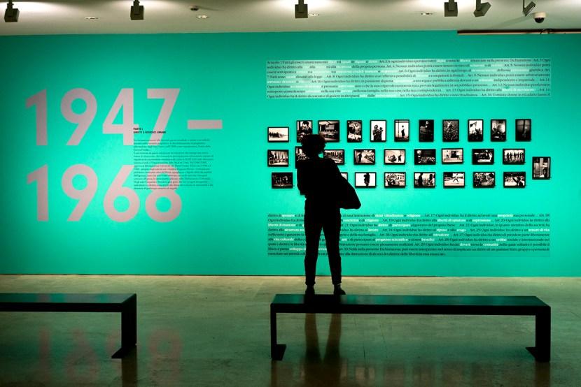 """Febbraio 2018 - La Mostra """"Magnum Photos"""" al museo dell'Ara Pacis di Roma"""