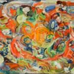 "36"" x 50"" Oil on Canvas"