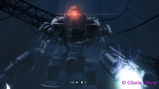 Wolfenstein The New Order - Mechanized death!
