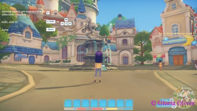 My Time at Portia - Central Square