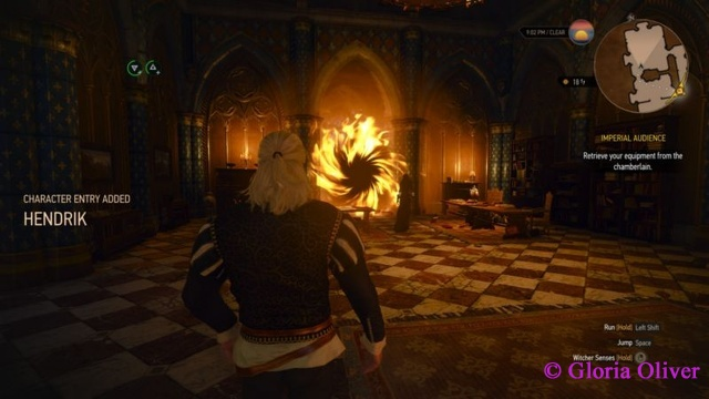 Witcher 3 - magic portal