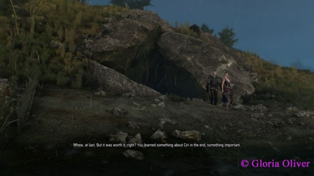 Witcher 3 - the end of the elf cave
