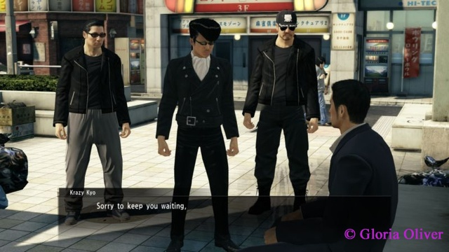 Yakuza 0 - rebel singing group
