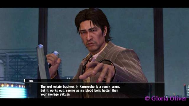 Yakuza 0 - Oda