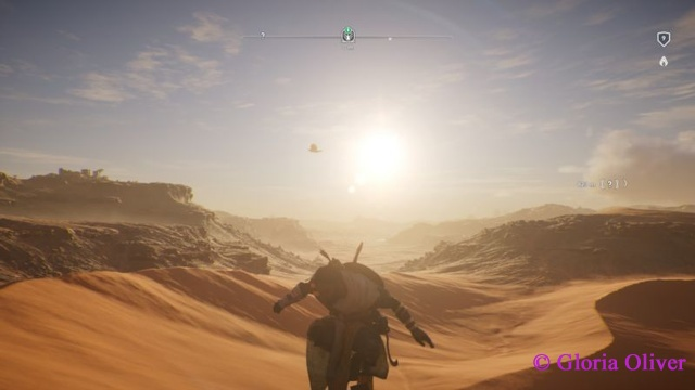 Assassin's Creed Origins - Desert and rock