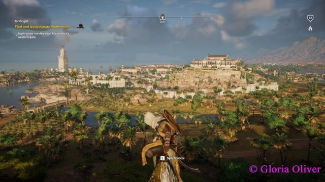 Assassin's Creed Origins - View of Alexandria