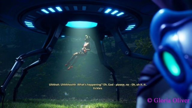 Destroy All Humans - beam me up!