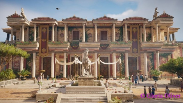 Assassin's Creed Origins - building facade