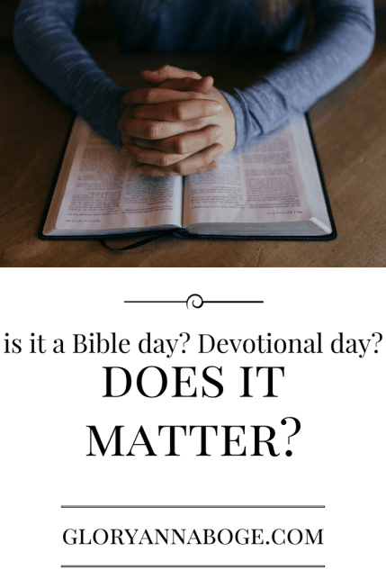 is-it-a-bible-day-devotional-day