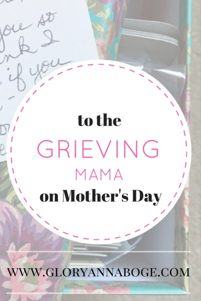 Are you grieving this Mother's Day? Me too. Read on for encouragement and how to handle this holiday.