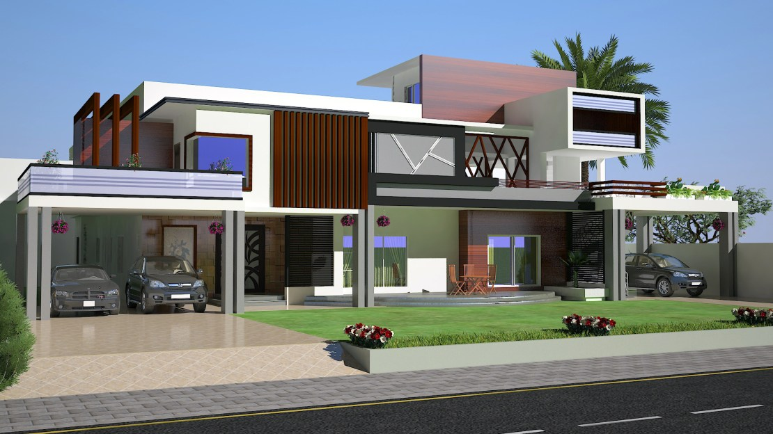 2 KANAL HOUSE 3D SIDE VIEW