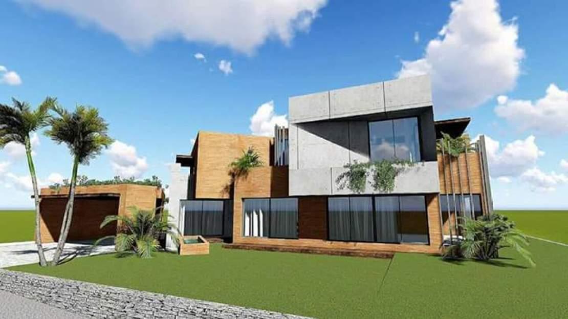 2 KANAL MODERN 3D HOUSE ELEVATION IN ISLAMABAD PAKISTAN