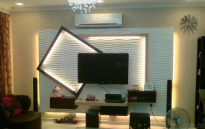 modern t.v wall design ideas