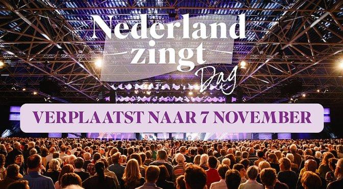 EO verplaatst Nederland Zingt Dag naar 7 november