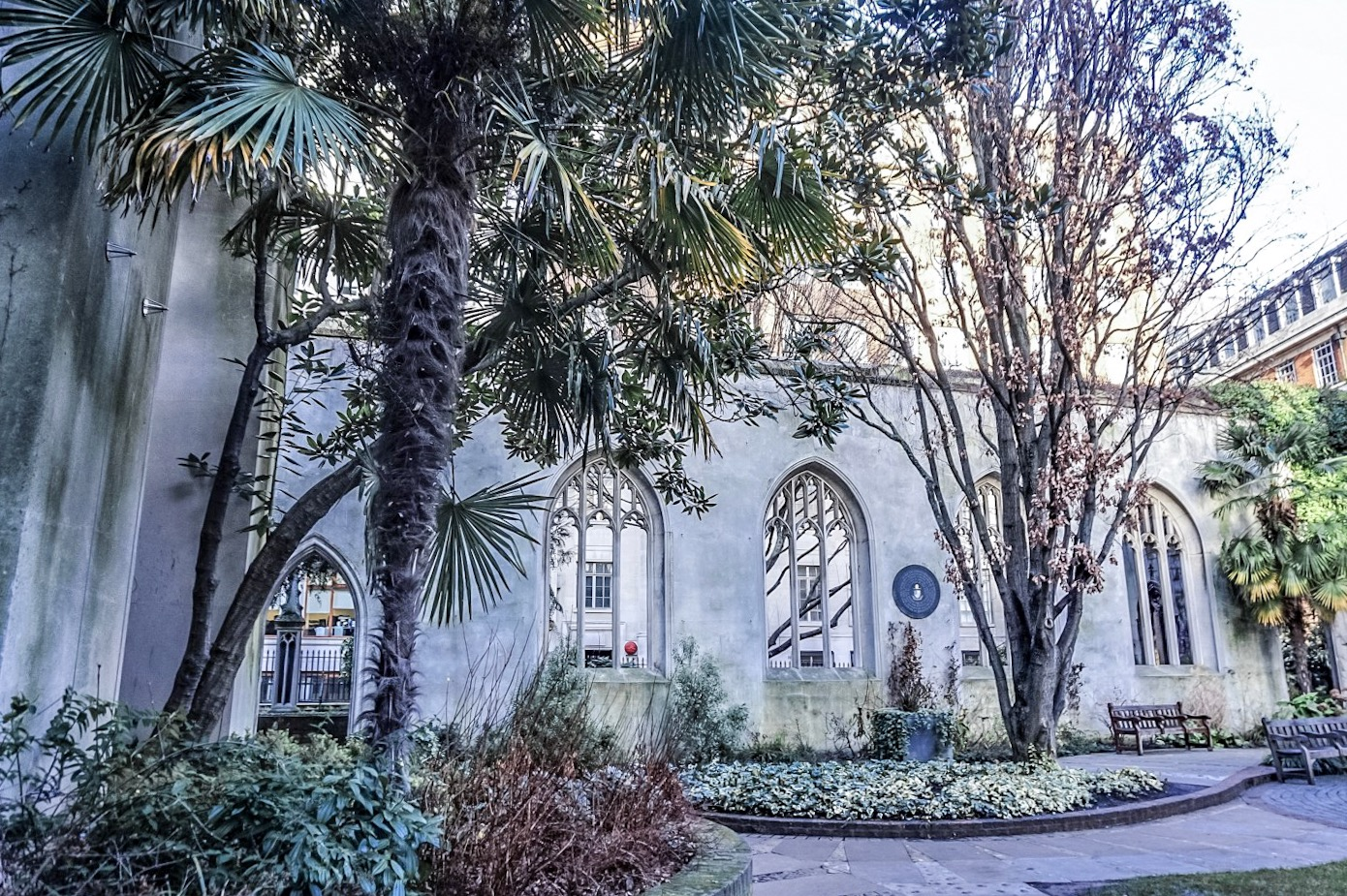 St Dunstan in the East, London, UK