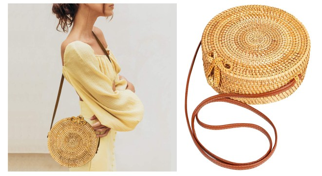 best Amazon fashion buys: straw bag