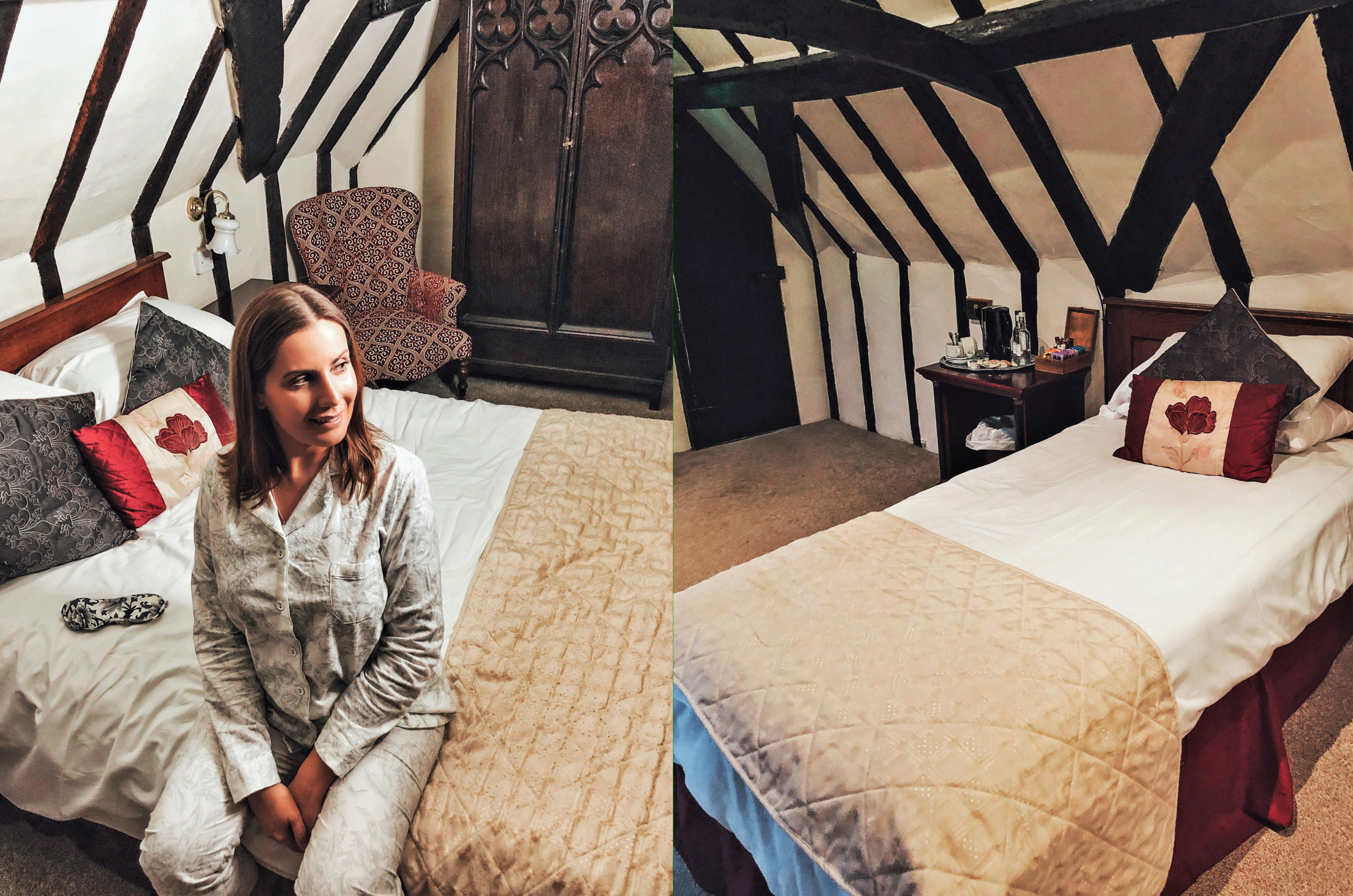 I spent the night at the most haunted hotel in the UK - check out these bone-chilling ghost stories from the Mermaid Inn!| haunted hotels UK | haunted locations | paranormal | places to see in the UK | quirky hotels | UK hotels | UK travel | unique hotels | where to stay in the UK | UK weekend ideas | places to see near London | haunted England | ghost stories | ghost sightings | unusual places to stay in the UK | Rye | Mermaid Street | spooky | trips from London | #haunted #travel #ukhotels