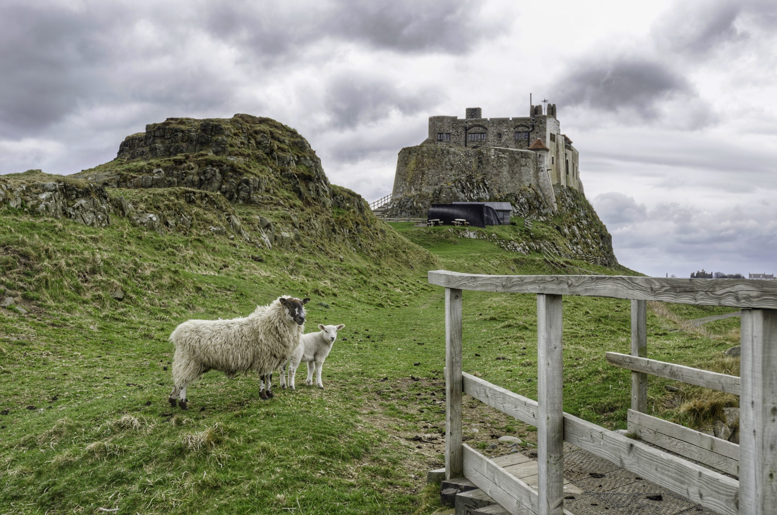 What To Do On Holy Island of Lindisfarne: Lindisfarne Castle