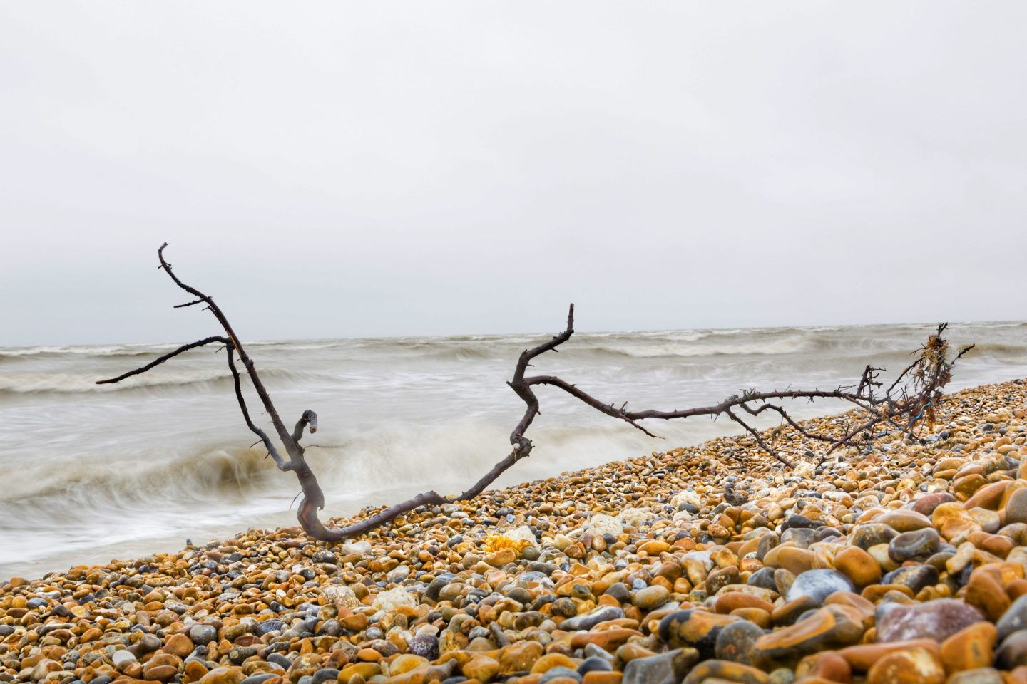 unique UK attractions: Dungeness beach