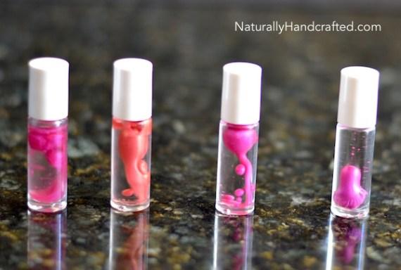 Easy DIY Lip Gloss Recipe